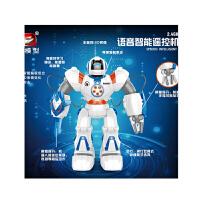 儿童遥控电动机器人音乐跳舞玩具充电体感机械智能战警男孩礼物
