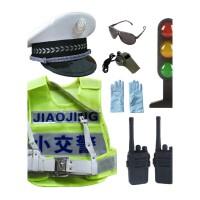 儿童小警察装备男女童黑猫警长套装COS小警察小交警玩具枪对讲机男孩儿童宝宝玩具六一儿童节礼物