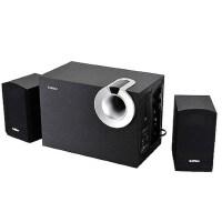 Edifier/漫步者 R206P 台式机电脑音箱 多媒体木质重低音炮MP3音响 支持U盘播放、全木质,全新正品。纯黑色的外观设计,木质结构,做工精致,音质纯正,整体观感经典稳重