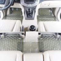 汽车脚垫PVC通用可剪裁橡胶脚垫塑料车内5座脚垫经济实用