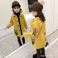 女童毛呢外套秋冬装新款韩版公主小女孩呢子大衣儿童洋气冬装