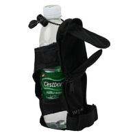 户外折叠水壶包腰挂水杯袋松紧可调节保温杯套雨伞