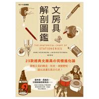 文房具解剖�D�b:23款�典文具「�M化�」,�D解文具的��造、形�睢⒀葑��v程,�V出浪漫文具文化史