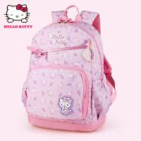 Hello Kitty凯蒂猫 KT1080粉紫 幼儿园护脊书包小学生书包 当当自营