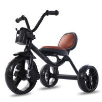 儿童三轮车脚踏车宝宝童车玩具车 1-3-5岁幼儿自行车小孩2-6单车YW04童 三轮车经典黑色