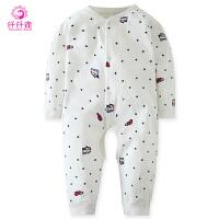 0-3岁儿童爬爬服婴儿衣服春装婴儿连体衣夏棉宝宝婴儿哈衣