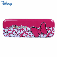 迪士尼/Disney DM28074 米奇米妮铁笔盒 颜色图案随机 男女小学生文具盒大容量铅笔盒开学文具礼物奖品 当当
