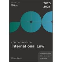 预订Core Documents on International Law 2020-21