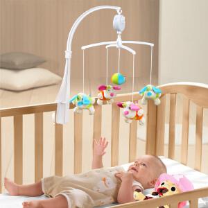 橙爱宜宝 小狗音乐床铃 宝宝旋转挂铃床挂 新生婴儿玩具 0-1岁