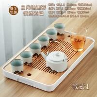 【新品热卖】日式茶具套装办公室用小套茶壶家用功夫简约结婚*陶瓷整套礼盒