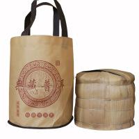 普洱茶饼包装布袋手提袋现货七子饼茶布袋子无纺布通用普洱茶礼品包装袋 J
