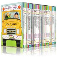 Junie B Jones 系列1-28 套装 英文原版 朱尼琼斯 少儿英文桥梁书 章节书小说