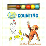 Curious Baby Counting (Curious George Board Book with Beads) 好奇宝宝学算术(好奇猴乔治卡板书)9780547215211