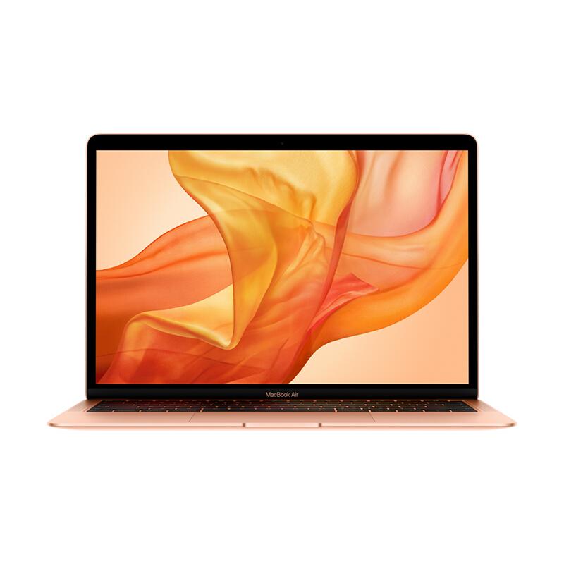 Apple MacBook Air 13.3英寸笔记本电脑 金色(2018款Retina屏/八代Core i5 /8GB内存/256GB闪存MREF2CH/A) 官方授权 品质保证