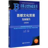 首都文化贸易发展报告(2020)/首都文化贸易蓝皮书 社会科学文献出版社