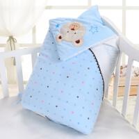 婴儿抱被新生儿加厚可脱胆秋冬宝宝包巾襁褓MY-01 100*100