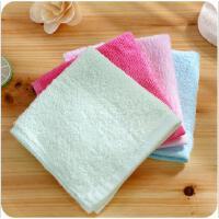 竹纤维毛巾宝宝婴儿洗脸擦手巾儿童吸水小方巾洗脸巾