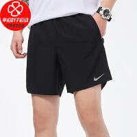 NIKE/耐克男裤新款宽松舒适透气休闲五分裤跑步健身训练运动短裤CZ9069-010