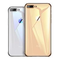 苹果iPhone8手机壳7Plus套8透明硅胶女男防摔八iPhone7软壳7P超薄i8全包个性创意潮黑红气囊