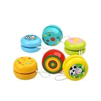 木质溜溜球小孩宝宝益智玩具男孩女孩子儿童幼儿园礼物