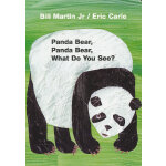 Panda Bear, Panda Bear, What Do You See?[Board Book] 熊猫,熊猫,你看到了什么?(卡板书)ISBN 9780805080780