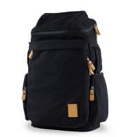 学院双肩包 户外运动背包潮书包 旅行包中学生 男包帆布包大包男士