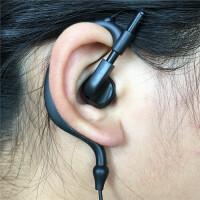单边耳机挂耳式耳塞带麦有线控手机音乐运动单线耳麦左右通用