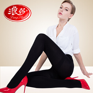 【一件】浪莎连裤袜800D加州棉保暖打底袜秋冬中厚美腿丝袜美腿袜子女