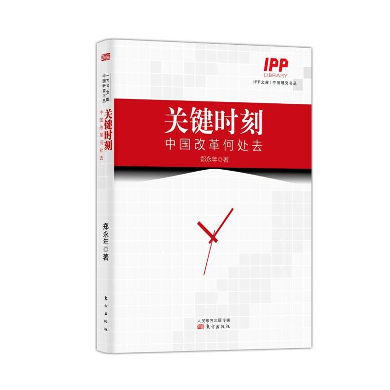 关键时刻:中国改革何处去(中国改革路线的说明书。)