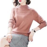 【反季清仓 】2019秋冬新款毛衣女半高领针织衫女宽松显瘦毛衣上衣女