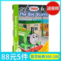 托马斯和朋友们Thomas and Friends The Big Strom 英文原版托马斯分级阅读入门级Readi