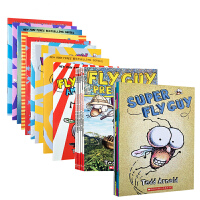 Fly Guy苍蝇伙计 苍蝇小子系列20本全彩套装 简单有趣的英语桥梁书 非常幽默的英文初级读物There Was An Old Lady Who Swallowed Fly Guy