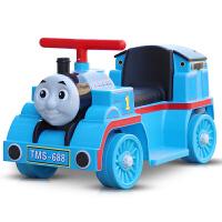 儿童电动车小火车头可坐人四轮童车男女宝宝玩具车1-3岁 单驱动+标配小电瓶+礼品 50分钟