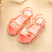 女童凉鞋韩版儿童夏季宝宝凉鞋女 童鞋小孩舒适软底公主