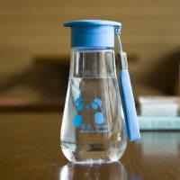 太空杯 水杯塑料便�y���w可��和��W生�S手杯女��意防漏杯子抖音