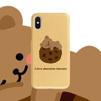 饼干小熊华为nova6/vivos5魅族16t/荣耀20青春版红米k20pro手机壳