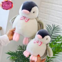卡通发声粉嘴仿真企鹅公仔 毛绒玩具玩偶 可发声送娃娃孩生日礼物 粉嘴企鹅