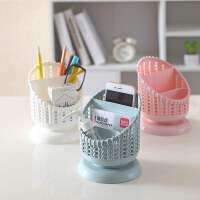 笔筒创意盒桌面摆件简约办公用品笔桶文具遥控器收纳筒