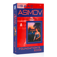 银河帝国 基金会的边缘 Foundation's Edge 艾西莫夫科幻小说 英文原版进口书籍