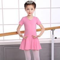 儿童舞蹈服女长袖春夏季女童练功服幼儿连体演出服装芭蕾舞舞蹈裙