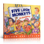 Five Little Monkeys Go Shopping 五只猴子去逛街 Eileen Christelow 廖