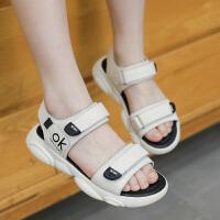 2019夏季新款时尚中大童公主宝宝沙滩鞋女童凉鞋韩版软底鞋