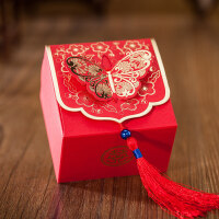 结婚婚礼婚庆创意喜糖盒子袋礼盒浪漫中国风糖盒糖果盒回礼新款盒