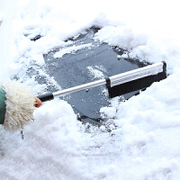 汽车用除雪铲玻璃清雪工具除冰铲刮雪器除霜扫雪刷子冬季用品