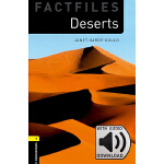 Oxford Bookworms Library: Level 1: Deserts Factfile MP3 Pac