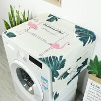 滚筒洗衣机罩盖布防水防晒 冰箱罩防尘布微波炉盖巾床头柜盖布