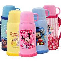 包邮!迪士尼正品 500ML学生保温水杯 米奇米妮维尼公主史迪仔 配送杯套 儿童保温壶 多色多图案可选!