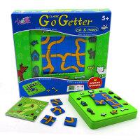 小乖蛋 动物迷宫猫和老鼠Go Getter 儿童益智玩具24关卡通闯关游戏培养逻辑思维能力