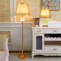 欧式台灯卧室床头柜台灯温馨浪漫现代水晶台灯北欧ins 少女结婚房
