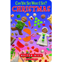 Can You See What I See?:Christmas Board Book 眼力大考验系列:圣诞(卡板书